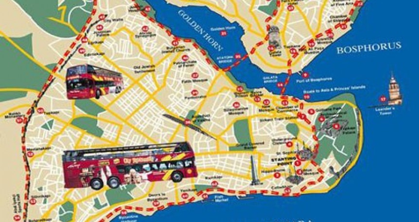 City Sightseeing Bus No Interior Visits