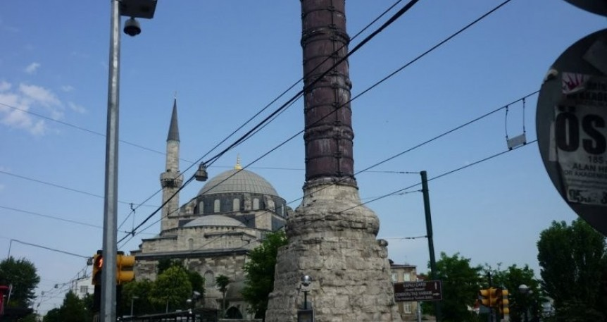 The Byzantine Columns of Istanbul